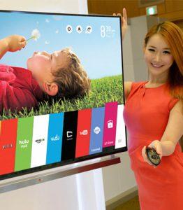 Cho thuê Tivi LED LCD 50 inches trưng bày triển lãm