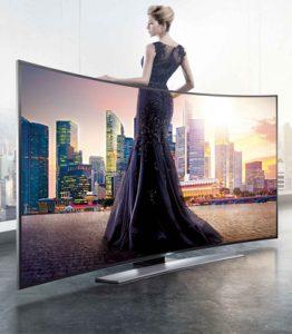 Cho thuê tivi LED 55 inch làm sự kiện hội chợ triển lãm